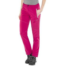 Meru Hawea Technical Pants Women Cerise/Grey
